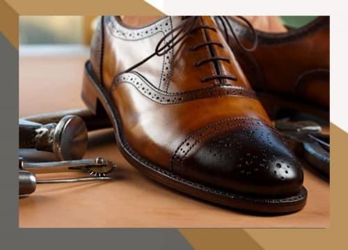 Ремонт дорогой обуви
