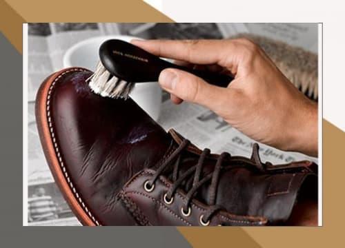 Обработка и чистка обуви