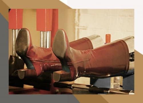 Профессиональная растяжка обуви