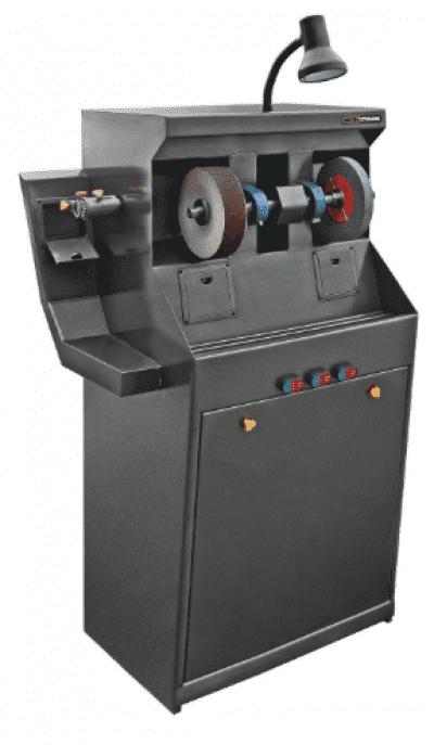 Точильно-шлифовальный станок для ремонта обуви ФинишерШСК-750 с фрезой