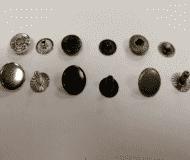 Кнопка альфа 12,5мм, 15мм (упаковка 50 штук)